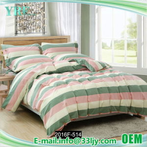 4 PCS Cotton Teal and Yellow Bedding for Bedroom pictures & photos