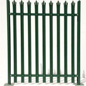 China Wholesale Colorful Powder Coated Metal Steel Palisade Fence pictures & photos