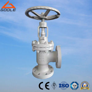 API Angle Type Flanged Globe Valve (GAJ44H) pictures & photos