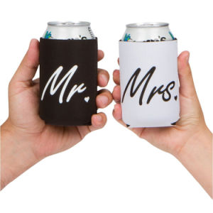 Can Coolers Gift for Wedding Engagement Anniversary Couples Neoprene Can Cooler pictures & photos