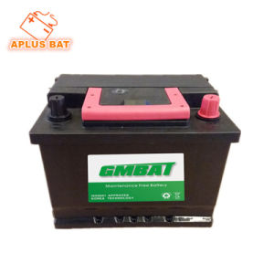 56220 12V62ah DIN62 Sealed Maintenance Free Lead Acid Car Battery pictures & photos