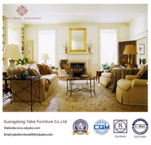 Wooden Hotel Furniture with Living Room Sofa Set (YB-T-824) pictures & photos