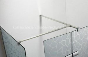 Walk-in Shower Screen with 8mm Tempered Clear Glass (K-W09) pictures & photos