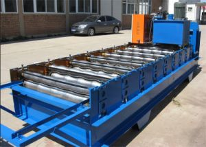5 Years Warranty Double Layer Roof Sheet Roll Forming Machine pictures & photos