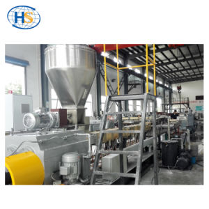 Non Woven Plastic Granules Making Filler Masterbatch Extruder Machine pictures & photos