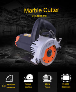 Portable Stone Cutter 110mm Marble Cutter (KD07) pictures & photos