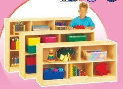 Professional Wooden Book Shelf Kids Furniture Preschool Classroom Cabinet for Sale (HB-03904) pictures & photos