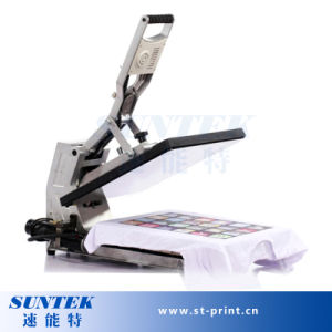 Heat Press Transfer Hydraulic T Shirt Transfer Press in Machine pictures & photos