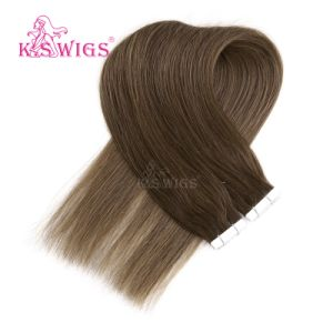 Double Tape Hair Brazilian Remy Human Hair Extension pictures & photos