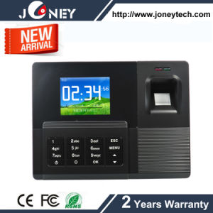 TCP/IP 2.4 Inch TFT Display Biometric System Fingerprint Time Attendance pictures & photos