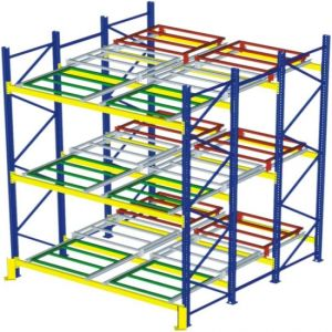 Storage Rack for Forklift Push Back Racking pictures & photos