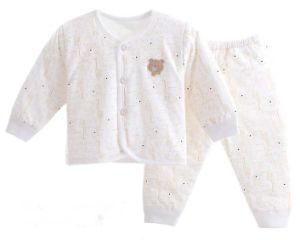 100% Cotton Long Sleeve Underwear Set with Cartoon Printing Baby Apparel pictures & photos