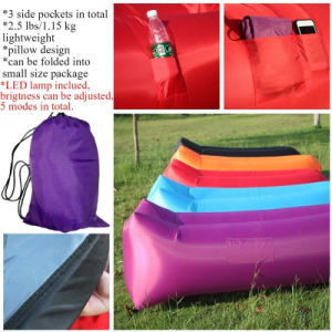 New Coming Inflatable Sleeping Bag/ Sofa/ Sleeping Air Bag pictures & photos
