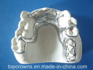 Removable Denture Cobalt Chrome Partial Made in China Dental Lab pictures & photos