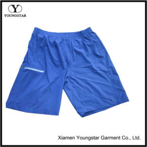 Mens Blue Elastic Stretch Athletic Gym Quick Dry Shorts pictures & photos