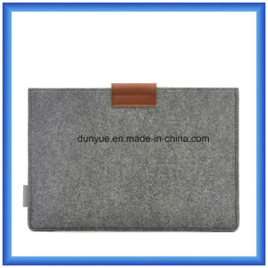 """Promotional Wool Felt Laptop Briefcase/Laptop Sleeve with Mouse Bag for Apple MacBook Air PRO, PRO Retina 13.3"""" (wool content is 70%) pictures & photos"""