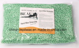 Pink Hard Wax Pellets Sensitive Skin Depilatory Wax with Less Pain Brazilian Waxing pictures & photos