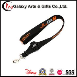 Custom Promotional Silkscreen Printed Polyester Lanyard Neck Strap No Minium Order pictures & photos