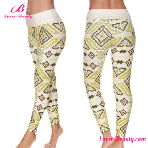 Geometric Pattern Printing Sexy Women Legging pictures & photos