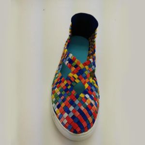 Women′s Hand Manufacturers Woven Elastic Webbing Shoes pictures & photos