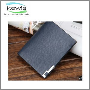 PU Leather Business Men Wallet with Customized Logo pictures & photos
