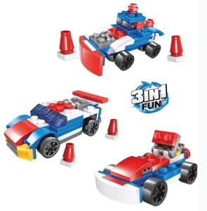 Plastic Building Blocks Car Toy for Kids pictures & photos