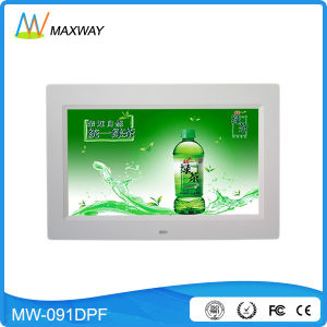 Thin Bezel 9 Inch Display Electric Digital Photo Frame Video Free Download pictures & photos