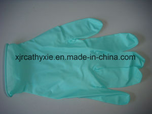 Non Steirle Disposable Nitrile Gloves Powder Free &Powder pictures & photos