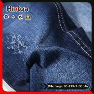 High Stretch 98% Cotton 2% Lycra Denim Fabric for Jean pictures & photos
