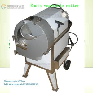 Commercial Stainless Steel Fruit and Vegetable Slicer Dicer, Cucumber Cube Cutting Machine pictures & photos