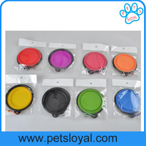 Amazon Hot Sale Pet Supply Product Silicone Pet Dog Bowl pictures & photos