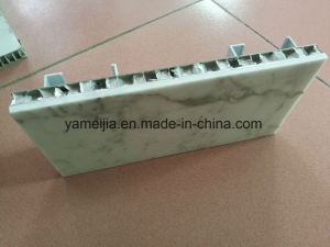White Marble Honeycomb Composite Wall Cladding Panels pictures & photos