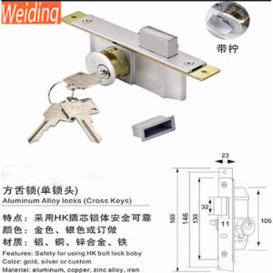 China Factory High Quality Modern Kfc Sliding Aluminum Door Lock pictures & photos