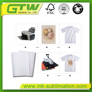 Sublimation Transfer, Dark T-Shirt Transfer Paper Type and Paper Material Type T-Shirt Paper pictures & photos