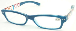 R17034 Small Frame Simple Reading Glasses, Unisex Eyeglass with Pattern pictures & photos