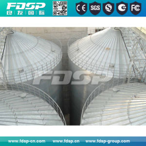 Galvanized Steel Silo/Wood Pellets Storage Silo with Ce Certificate pictures & photos