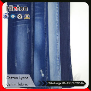 Factory Hot Sale Stretch Denim Shirts Fabric 5.3oz pictures & photos