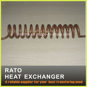 Copper Tube Helix for Heat Energy Recycling