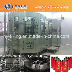Tea Drinks Can Hot Filling-Sealing Machine pictures & photos