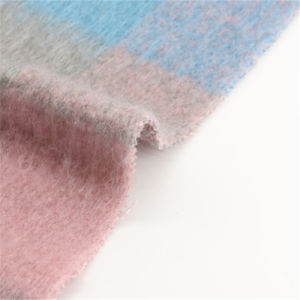 70%Polyester 30% Wool Checks for Women Garment pictures & photos