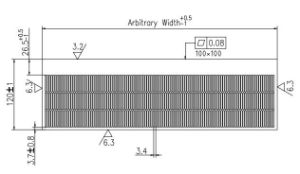 Air Cooling Heat Sink for Frequency Converter pictures & photos