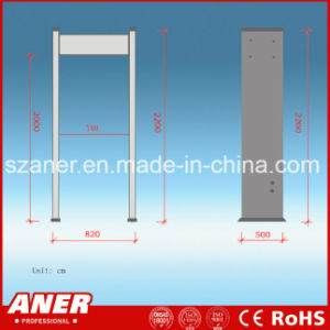 China Manufacturer High Sensitivity Walk Through Gate with 12 Zones pictures & photos