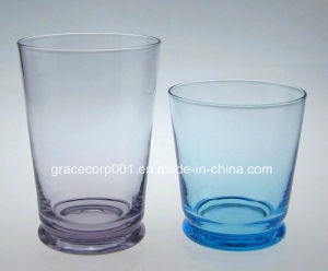 Drinking Glassware Solid Color Glass Tumbler Hand Made pictures & photos