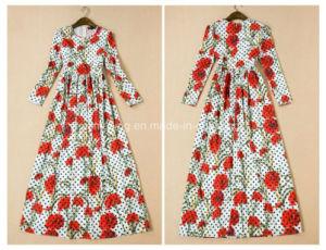Silk Print Women`S Skirt pictures & photos