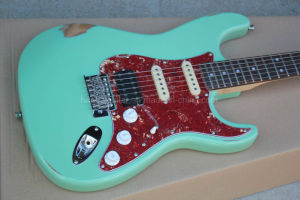 Hanhai Music/Green St Style Electric Guitar with Red Tortoise Pickguard pictures & photos