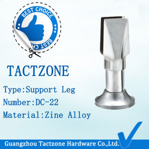 Zinc Alloy Accessories Adjustable Support Legs for Toilet Partition Panel pictures & photos