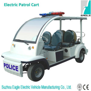 Eg6043p, Best Electric Delivery Vehicle Service for Police with Police Light pictures & photos