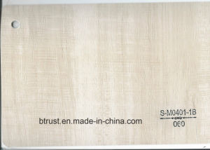 Wood Grain PVC Deco Foil for Furniture/Cabinet/Door Hot Laminate/Vacuum Membrane Press Bgl055-060 pictures & photos