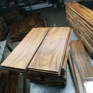 Finished Small Leaf Acacia Flooring /Acacia Natural Wooden Flooring