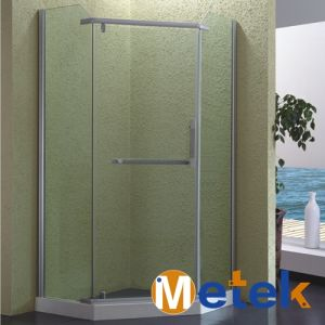 Rectangle with Top Rollers Sliding Glass Shower Rooms Frameless Shower Door Hinges pictures & photos